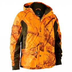 Deerhunter Herren Übergangsjacke Explore( realtree edge/orange camou)