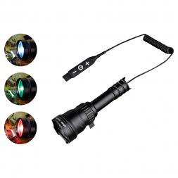 Dörr LED Taschenlampe Jagd Zoom (Tricolor)
