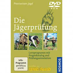 DVD - ROM: Die Jägerprüfung / Für den PC