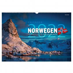 FISCH & FANG Edition: Norwegen Kalender 2021