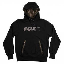 Fox Carp Herren Print Hoodie (black/camo)