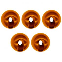 FTM Omura Tungsten Perlen (geschlitzt, orange)