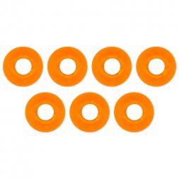 FTM Omura Tungsten Perlen (rundes Loch, orange)