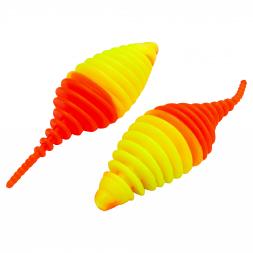 FTM Softbait Omura Baits Pongo (Neon Gelb/Neon Orange)