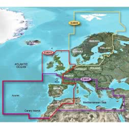 Garmin BlueChart XLarge - Europa & N/W-Atlantik