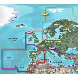 Garmin BlueChart XLarge - Mittelmeer & Iberische Halbinsel