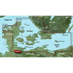 Garmin g2 BC microSD Dänemark Ost & Südschweden