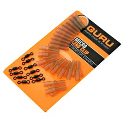 Guru Micro Lead Clip, Swivels & Tail Rubbers
