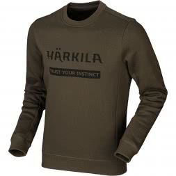 Härkila Herren Sweatshirt LOGO (willow green)