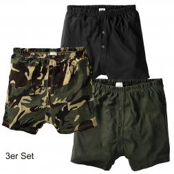 Herren Boxer-Shorts 3er Set