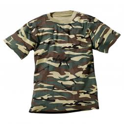 Herren Outdoor T-Shirt (camouflage)