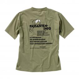 "Herren T-Shirt für Angler ""Passanten-Info"""
