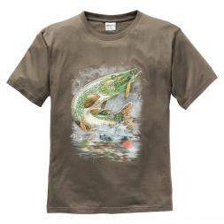 Herren T-Shirt Hecht