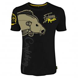 Hotspot Herren T-Shirt Fishing Mania Carp Fishing