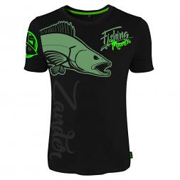 Hotspot Herren T-Shirt Fishing Mania Zander