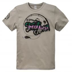 Hotspot Herren T-Shirt Trout Area