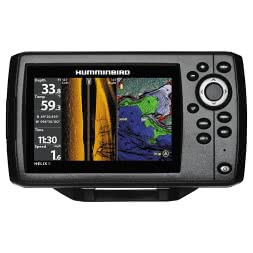 Humminbird Echolot Helix 5 CHIRP SI GPS G2 Side