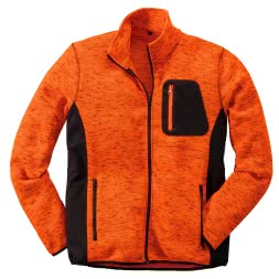 il Lago Basic Herren Outdoor Fleecejacke Skandi