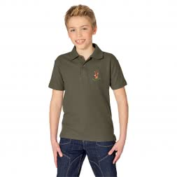 il Lago Basic Kinder Polo-Shirt Rehbock