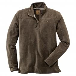 il Lago Prestige Herren Fleece Pullover HUNTER