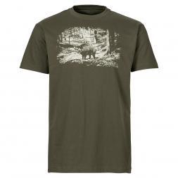 il Lago Urban Herren T-Shirt Wildschwein