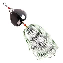 Iron Claw Bucktail Spinner Dizzy Rubber (WB)