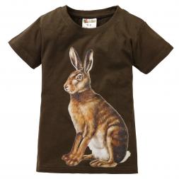 Kinder T-Shirt Feldhase