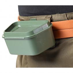 Köderbox mit Gürtelclip