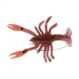 Kogha Creature Bait Crayfish Lure (Rot/Braun/Glitter)
