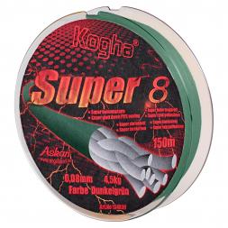 Kogha Geflechtschnur Super 8 (grün, 150 m)
