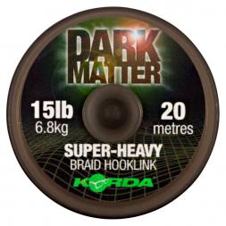 Korda Vorfachschnur Dark Matter Braid (20 m)