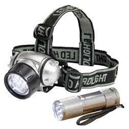 LED Flashlight Set