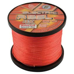 Lineaeffe Angelschnur FF Electric Reel 4X (fluo orange, 1.000 m)