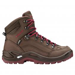 Lowa Damen Boots RENEGADE GTX® MID Ws (espresso/beere)