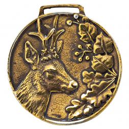 Medaille mit Bock-Emblem