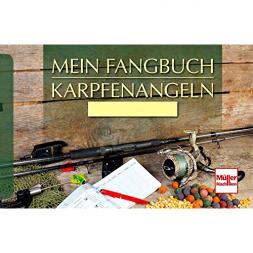Mein Fangbuch - Karpfenangeln von Frank Weissert