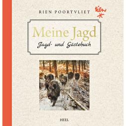 Meine Jagd, Jagd- und Gästebuch mit Tier- und Jagdzeichnungen von Rien Poortvliet