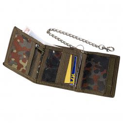 Mil-Tec Geldbörse mit Sicherheitskette