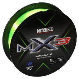 Mitchell Angelschnur MX3 Mono (low-vis gelb, 150)