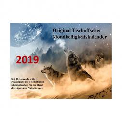 Original Tischoffscher Mondhelligkeitskalender 2019