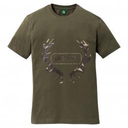 OS Trachten Herren T-Shirt HIRSCH