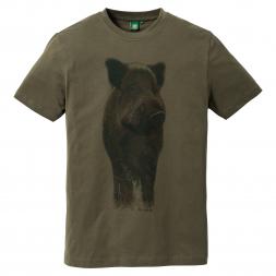 OS Trachten Herren T-Shirt WILDSCHWEIN