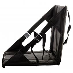 Outchair klappbarer Sitz/Sitzauflage BOTTOM HEATER II schwarz