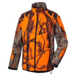 Percussion Herren Softshell Outdoor-Blouson (ghostcamo)