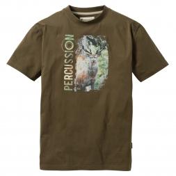 Percussion Herren T-Shirt (Hirsch)