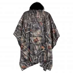 Percussion Unisex Poncho (Ghostcamou)
