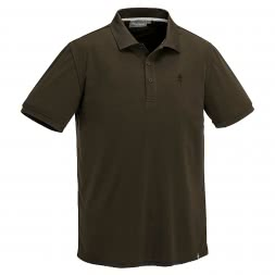 Pinewood Herren Polo Shirt Ramsey Coolmax (braun)