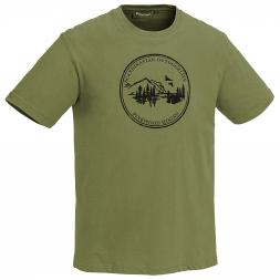 Pinewood Herren T-Shirt Camp (grün)