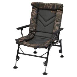 Prologic Avenger Comfort Camo Chair with Armrests & Cover