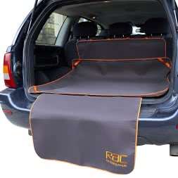 RAC Kofferaummatte mit Stoßstangenschutz, 3 tlg.